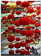红灯高挂闹新春